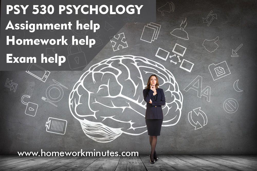 PSY 530 PSYHOLOGY The Psychology of Career Development