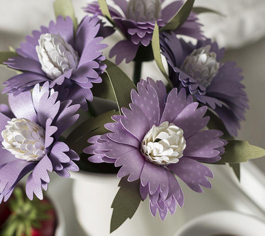 Helenium Flower Bouquet Flower Bouqet Cricut Design