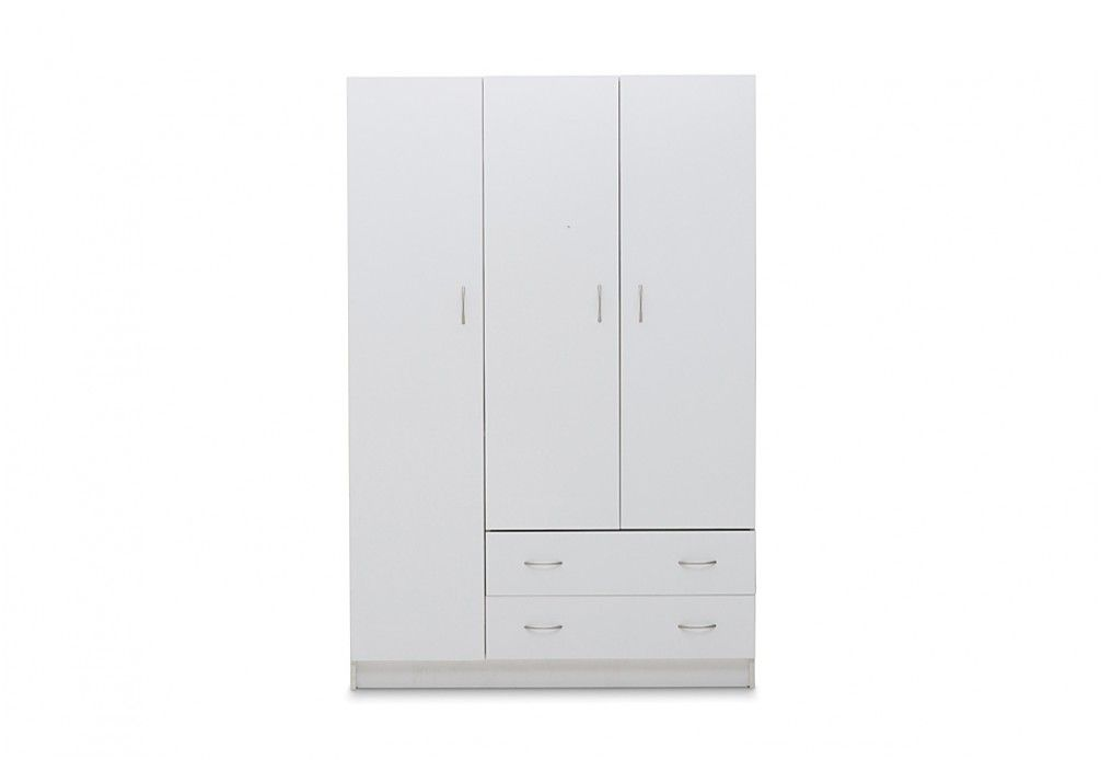 Spacesaver Combo Robe 3 Door 2 Drawer Space Savers Furniture Drawers