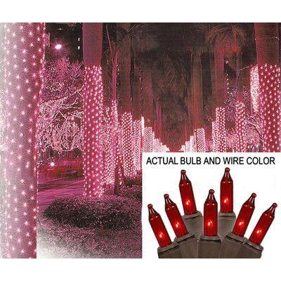 Sienna Mini Light Tree Trunk Wrap Christmas Light Net Wire Color