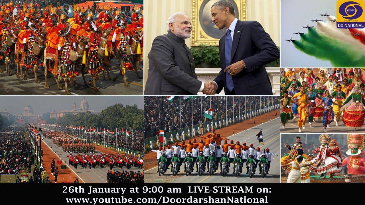 Republic Day Parade - 26th January 2015 - LIVE