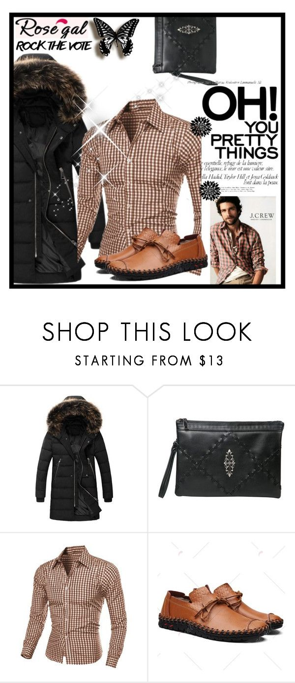"""""""ROSEGAL 47 / I"""" by ozil1982 ❤ liked on Polyvore featuring J.Crew"""