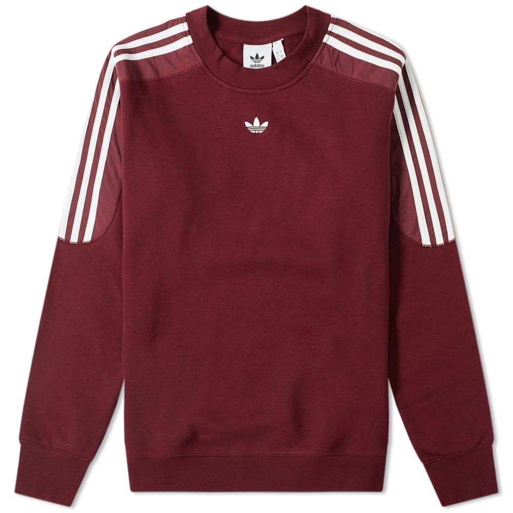 Adidas Originals Adidas Spirit Radkin Crew Sweat Adidasoriginals Cloth Mens Sweatshirts Hoodie Mens Athletic Apparel Adidas Sweater [ 1000 x 1000 Pixel ]