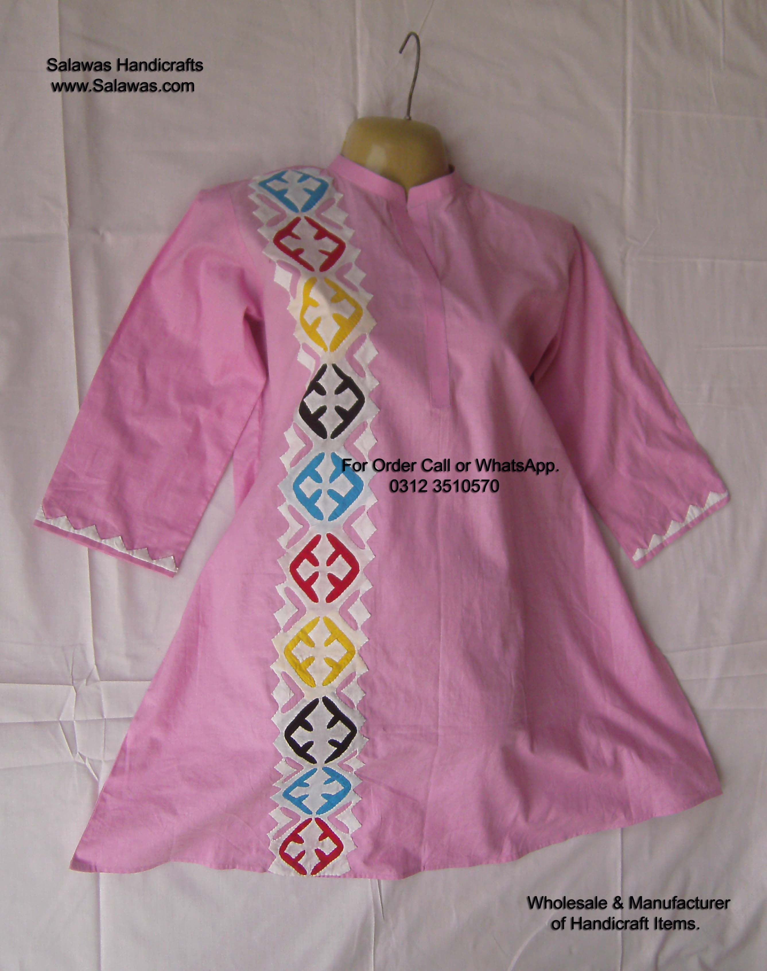 78e3d289f New Designs of Aplic Work Baby Frock from Pakistan