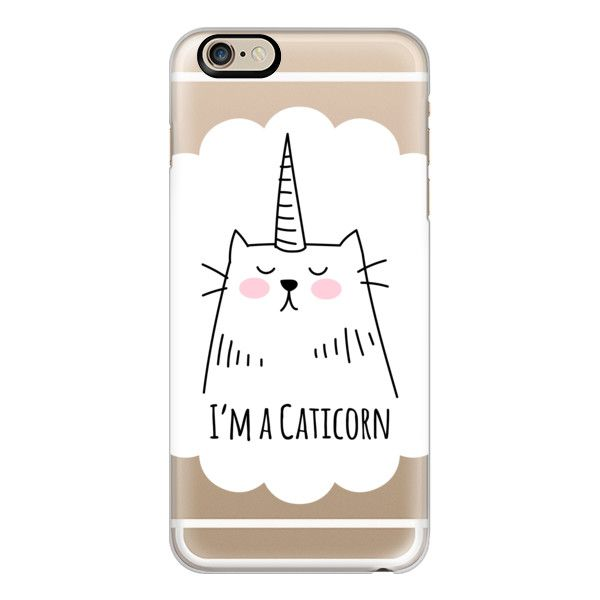 iPhone 6 Plus/6/5/5s/5c Case - I'm a Caticorn - Cat - Unicorn (£27) ❤ liked on Polyvore featuring accessories, tech accessories, phone case, phones, tech, iphone case, cat iphone case, iphone cover case and apple iphone cases