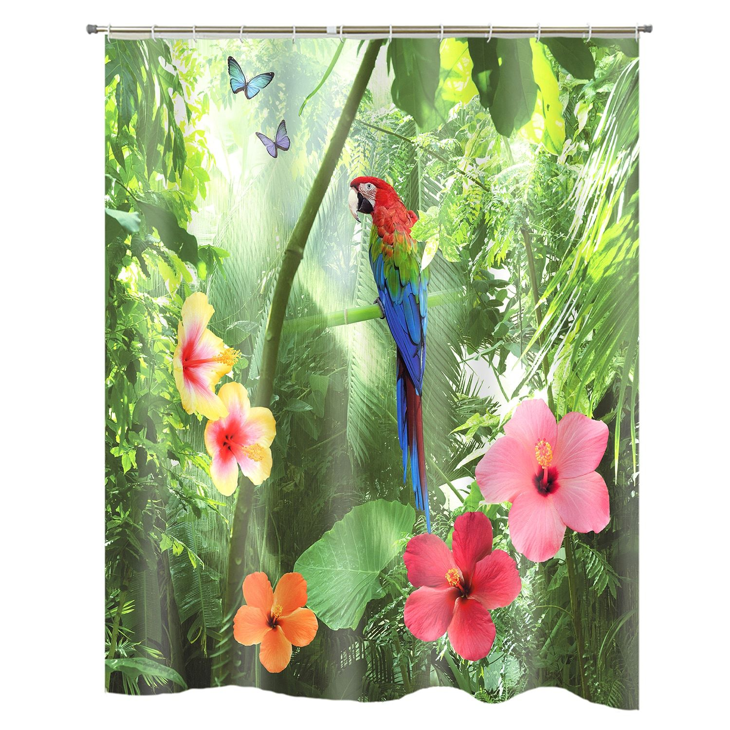 Popular Bath Parrot Shower Curtain Affiliate Bath Ad Popular