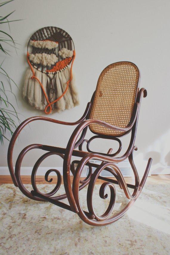 Incredible Thonet Chair Thonet Bentwood Chair Thonet Rocking Chair Creativecarmelina Interior Chair Design Creativecarmelinacom