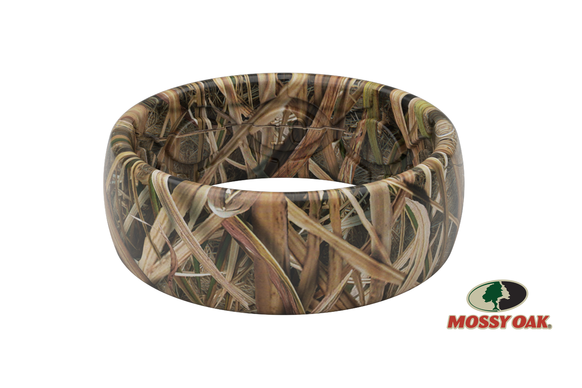 Original Camo Mossy Oak Blades Silicone rings men, Camo