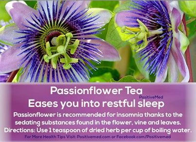 Passionflower Tea Passion Flower Tea Passion Flower Health Tips
