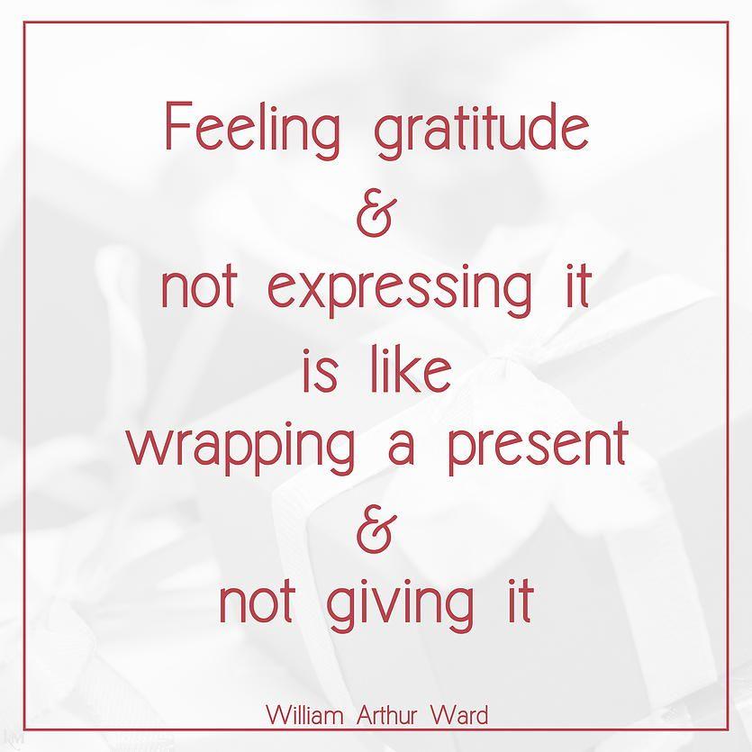 William Arthur Ward quote  #gratitude