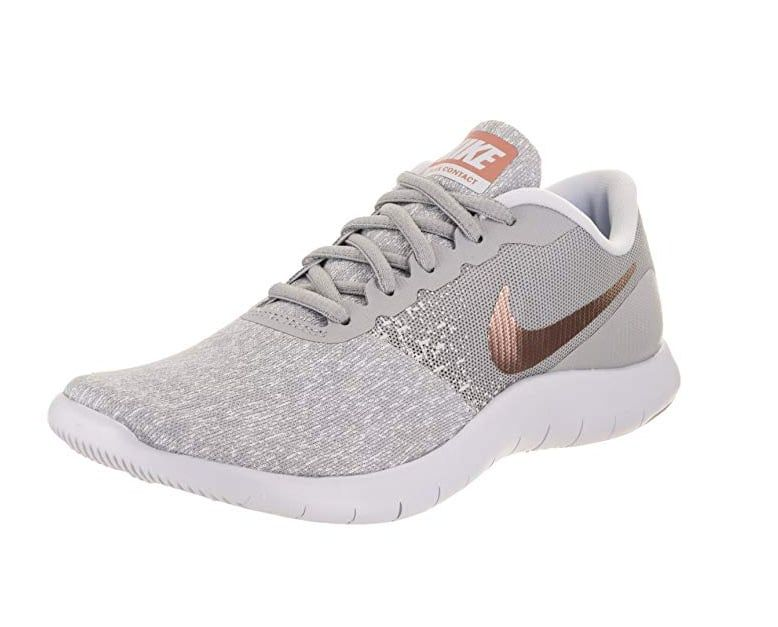 Gorgeous Rose Gold Nike Running Shoes