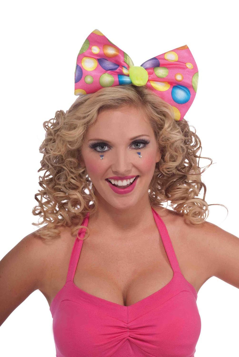 9b48beab6f475 Circus Sweetie Bow Headband Costume Accessory   Products   Pink ...