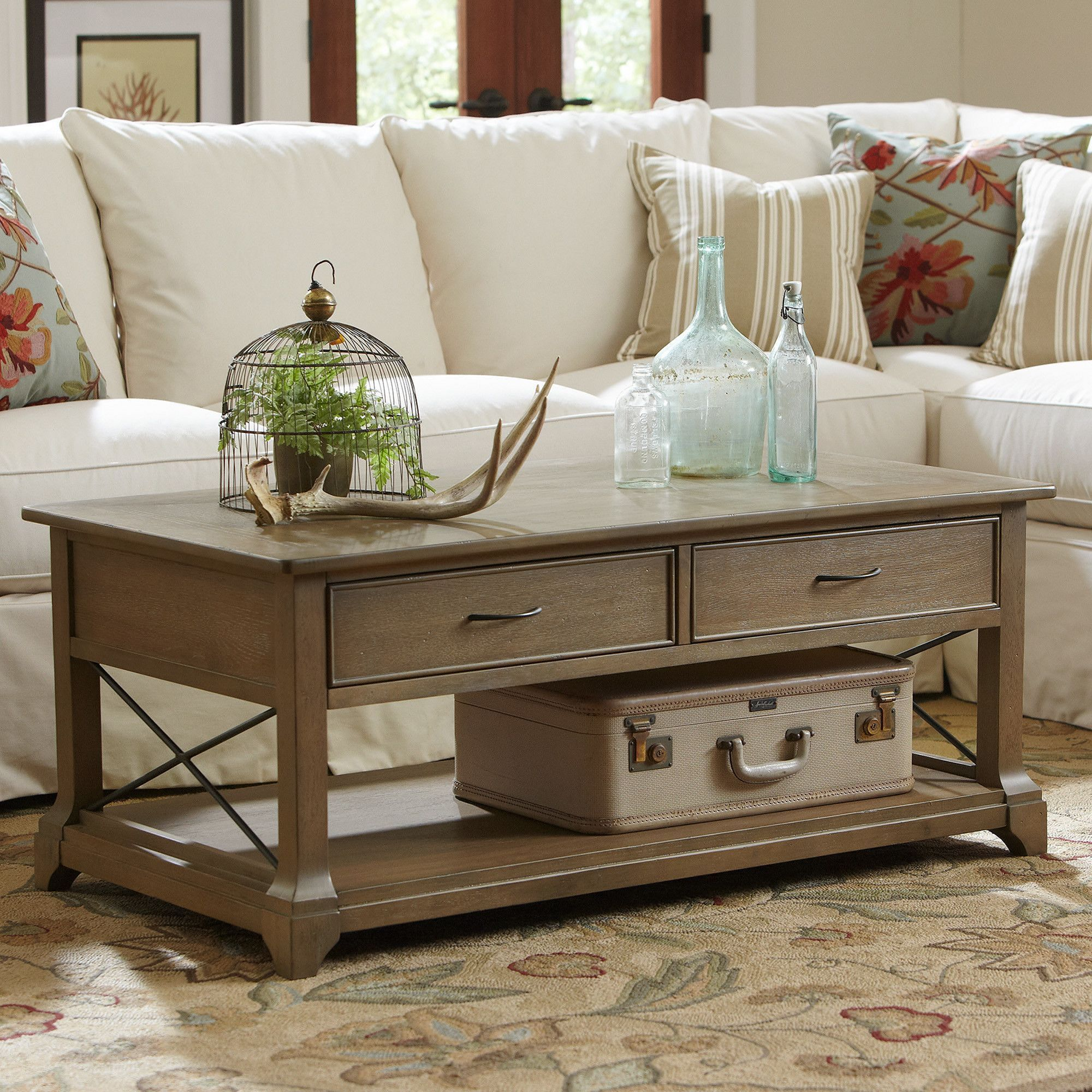 20 Lovely Farmhouse Living Table Furniture Ideas That Will Make Comfortable Your Guests Teracee Coffee Table With Storage Coffee Table Rectangle Coffee And End Tables [ 2000 x 2000 Pixel ]