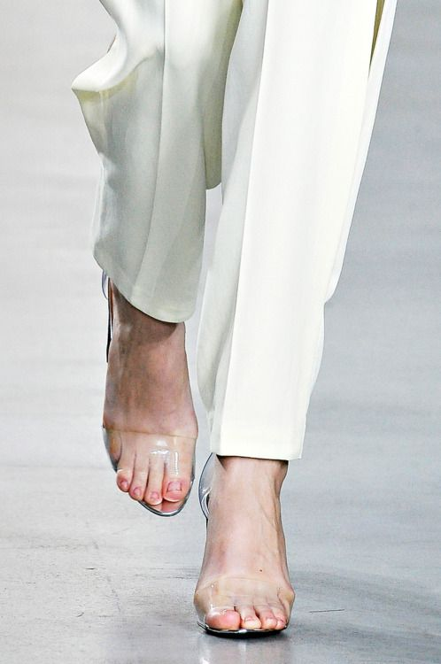 Transparent Shoes Perfect For Showing Your Ugly Toes And