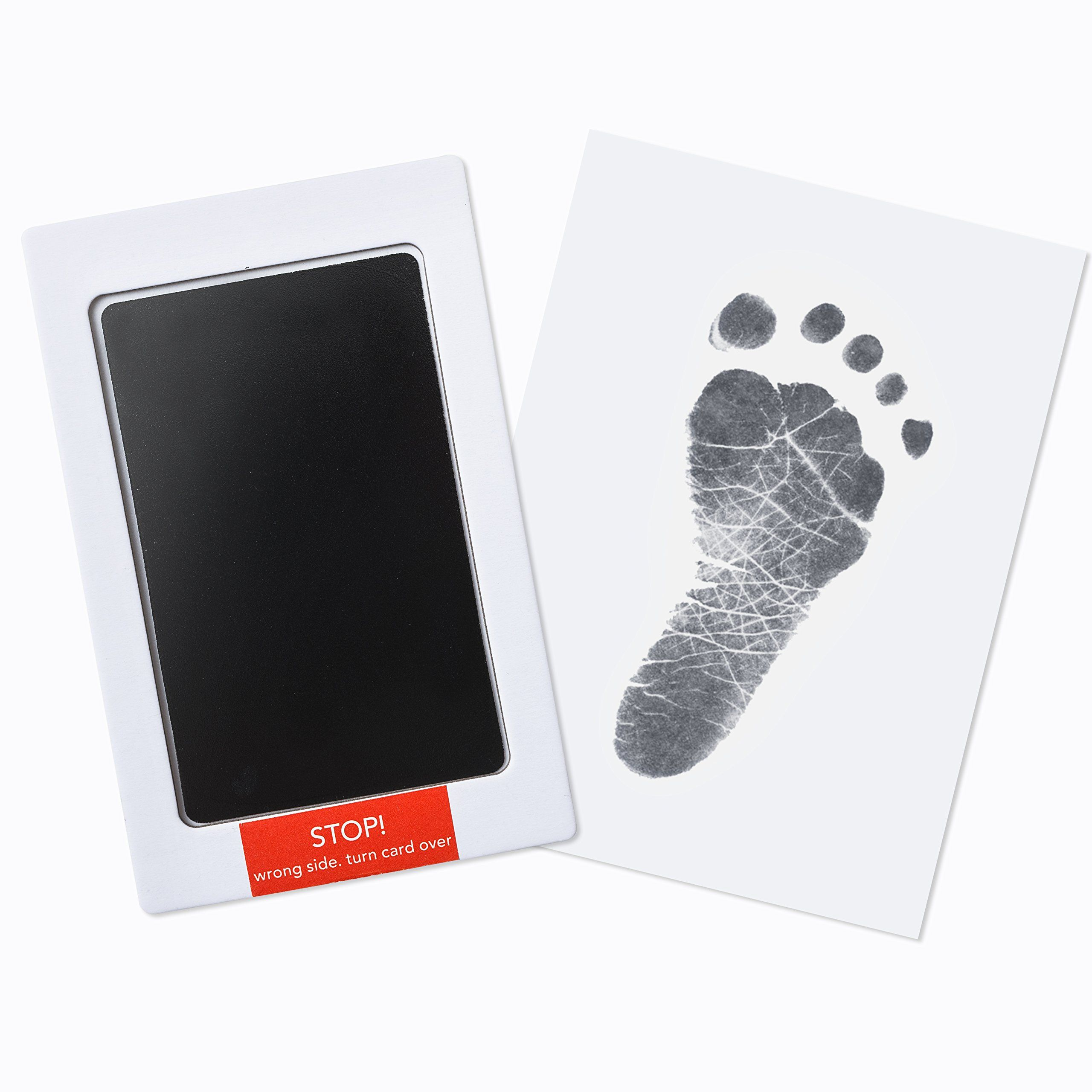 Clean and Safe Baby Hand and Footprint Kit by Forever Fun Times Easy to Clean B Bundle Get Hundreds of Detailed Prints with One Baby Safe Ink Pad and Works with Any Paper or Card
