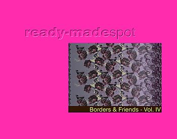 Ready Made Spot Borders + Friends Vol 4 for Fashion + Interiors