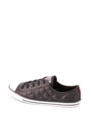 Baskets & Tennis Converse All Star Chuck Taylor All Star Dainty Quilt All Star Dainty Quilt Nylon Ox Noir - 46609 | Asap