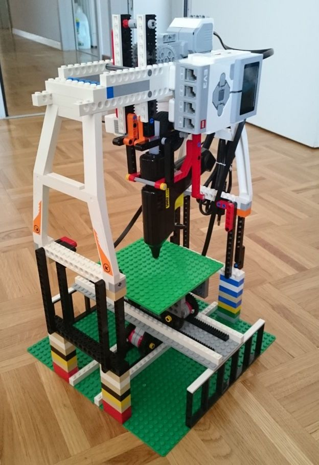 Instructables Just Released Lego 3D Printer 3.0 is More
