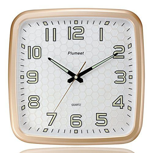 Buy Plumeet 14Inch Wall Clock with Classics and Specified Design