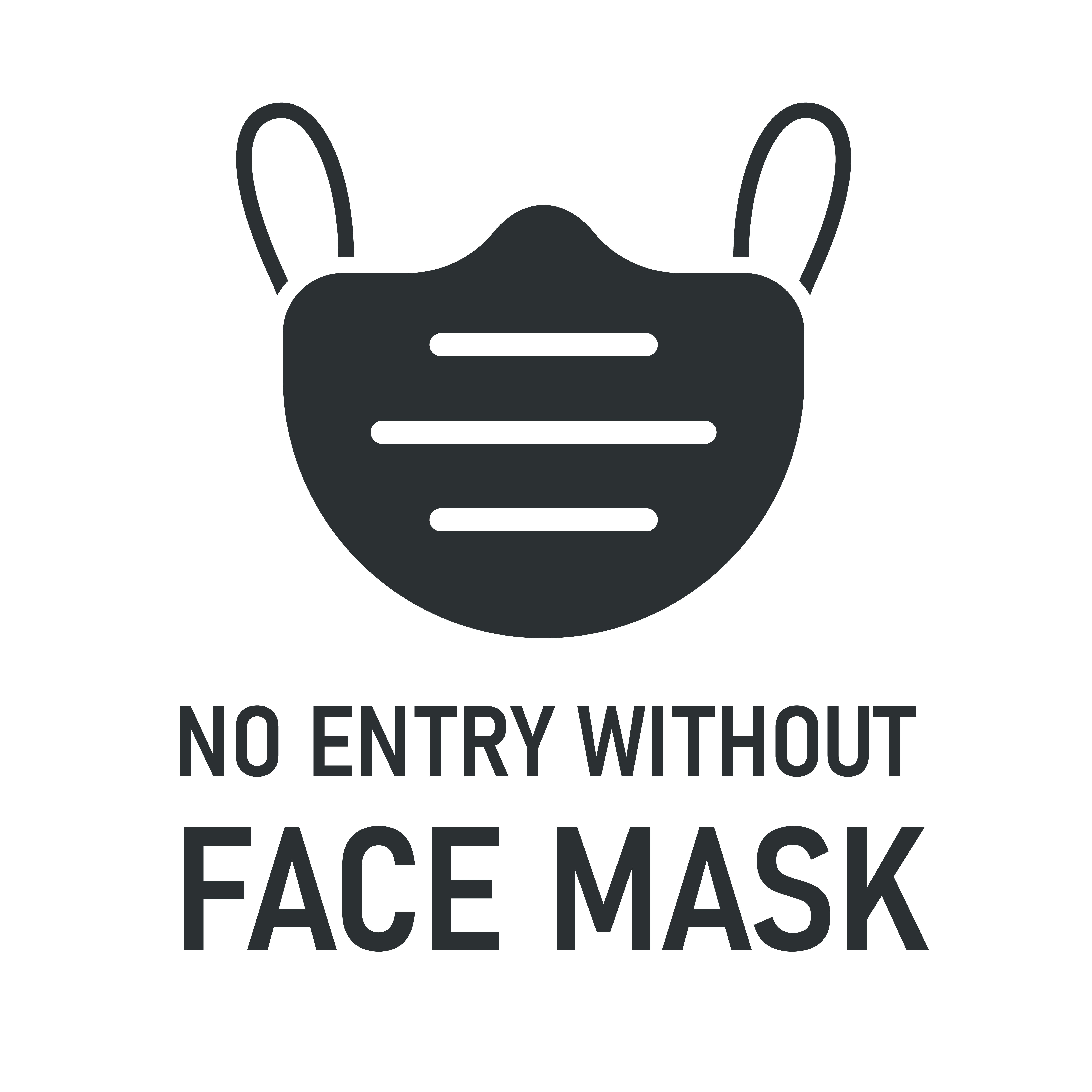 Download No Entry Without Face Mask With Mask Icon Vector Art Choose From Over A Million Free Vectors Clipart Graphics Vector Art Images In 2021 Mask Icon Face Mask