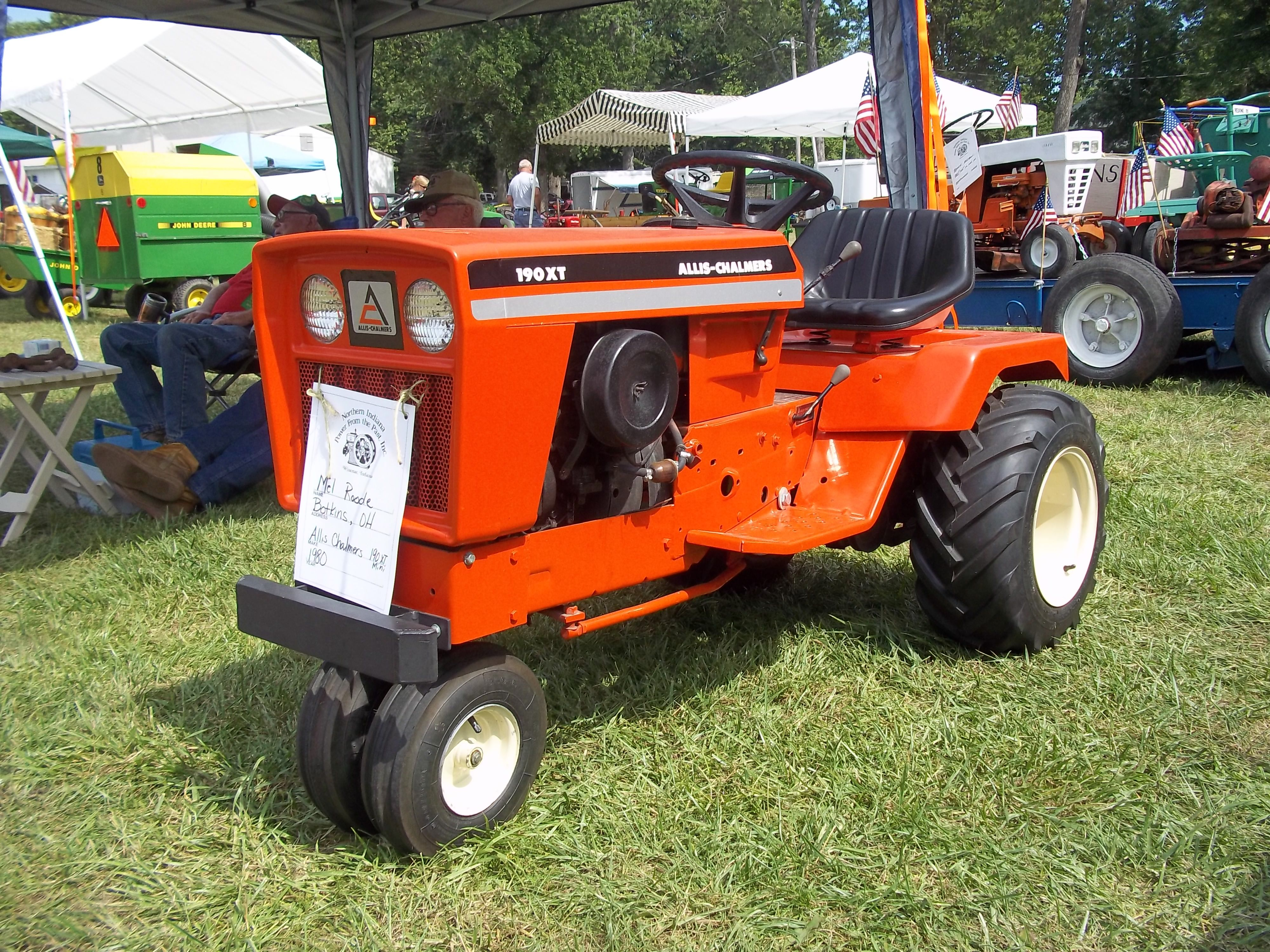 allis chalmers 190 xt mini tricycle lawn tractor ac my pictures