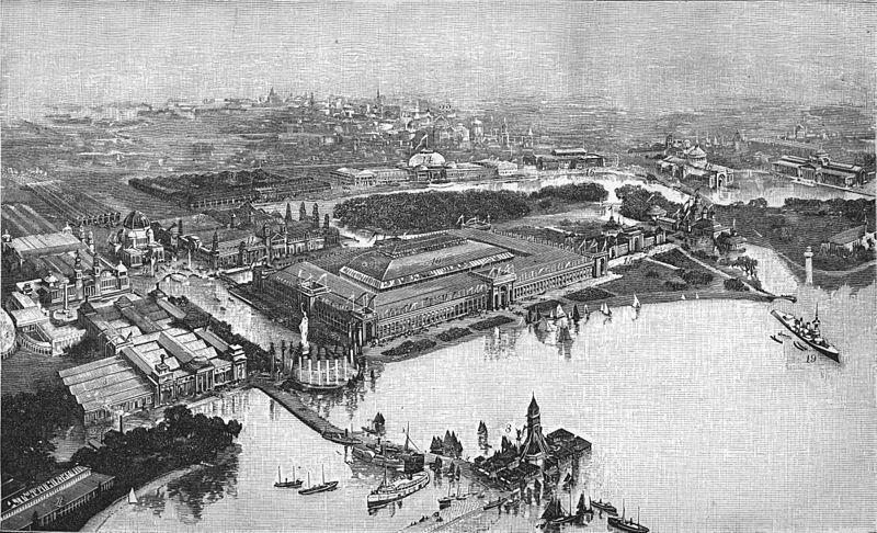 CHICAGO FAIR  | Chicago World's Fair, 1893. (Source: Wikipedia)