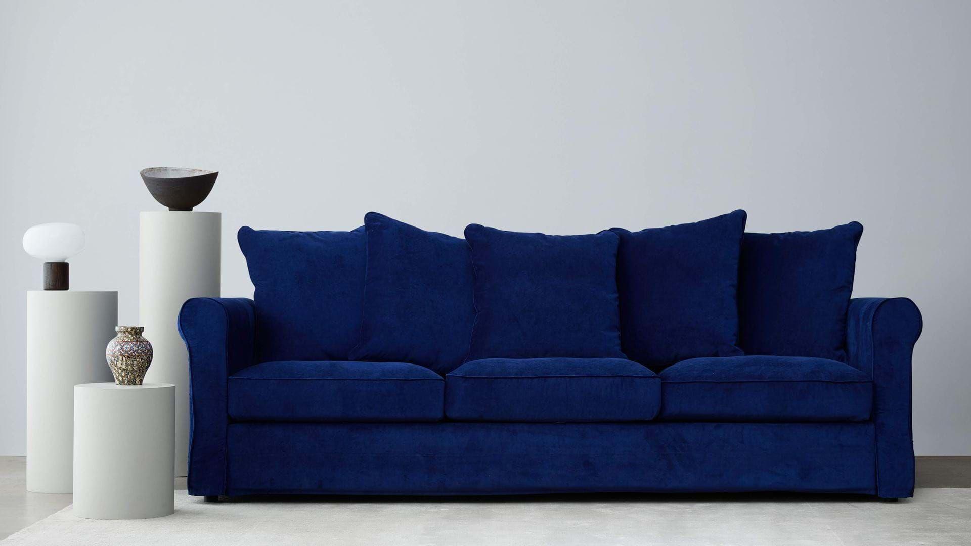 Bezug Fur 3er Sofa Gronlid Bemz In 2020 Sofa Covers Sand Beige Ektorp Sofa