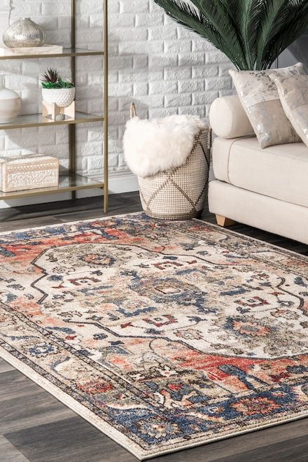 Rugs Usa Multi Florid Medallion Rug For The Home In 2019