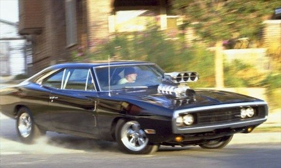 Dom's Dodge Charger Fast and Furious Film