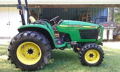 john deere 4600 tractor