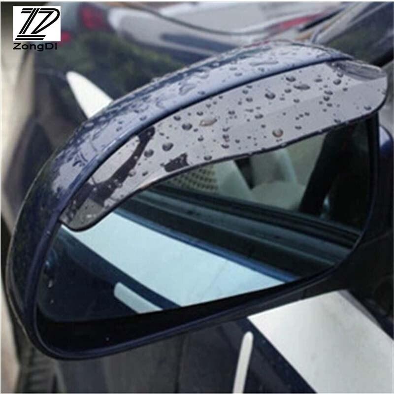 2pcs Car Styling Rain Brow For Citroen C4 C5 Ford Kuga Audi A4 B6 B7 B8 Best Price Oempartscar Com Side Mirror Car Rear View Mirror Car Rear View Mirror