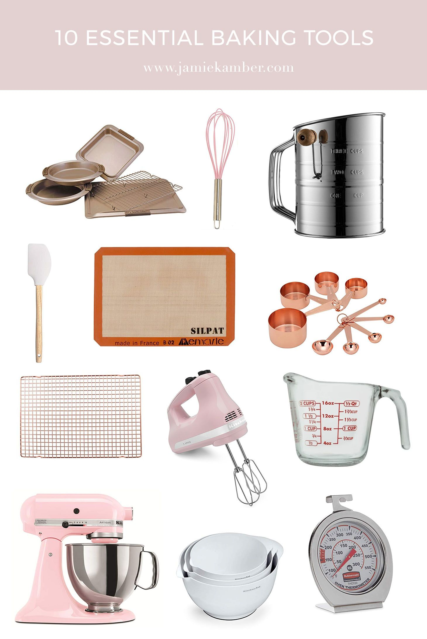 10 Essential Baking Tools For Beginners Baking Tools Baking For