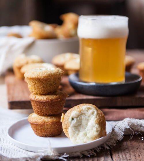 Jalapeno Cream Cheese Beer Cornbread