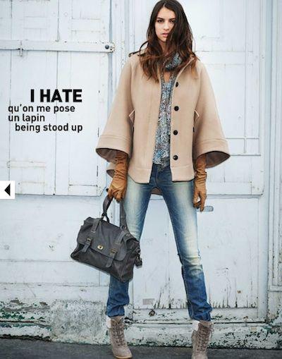 Comptoir Des Cotonniers Cape La Street Style Tops Fashion