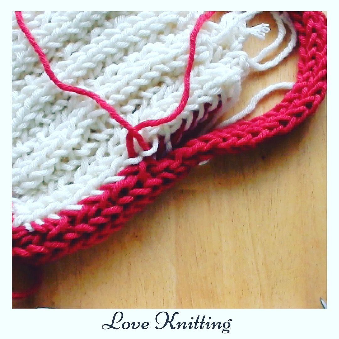 How to make a bag from Finger knitting. Free tutorial | Finger ...