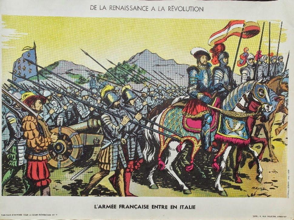 Manuels anciens affiche histoire n 17 l 39 arm e fran aise - Cuisiner l omble chevalier ...