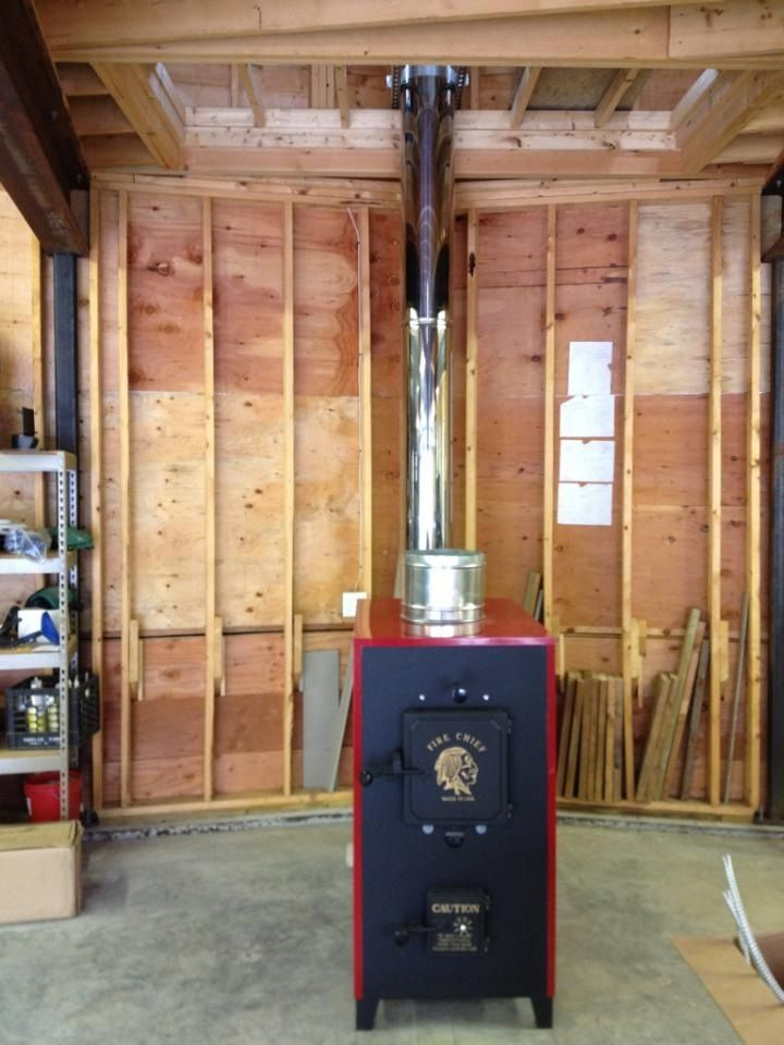 wood stove in garage - Google Search - Wood Stove In Garage - Google Search WoodShop Cabin Pinterest