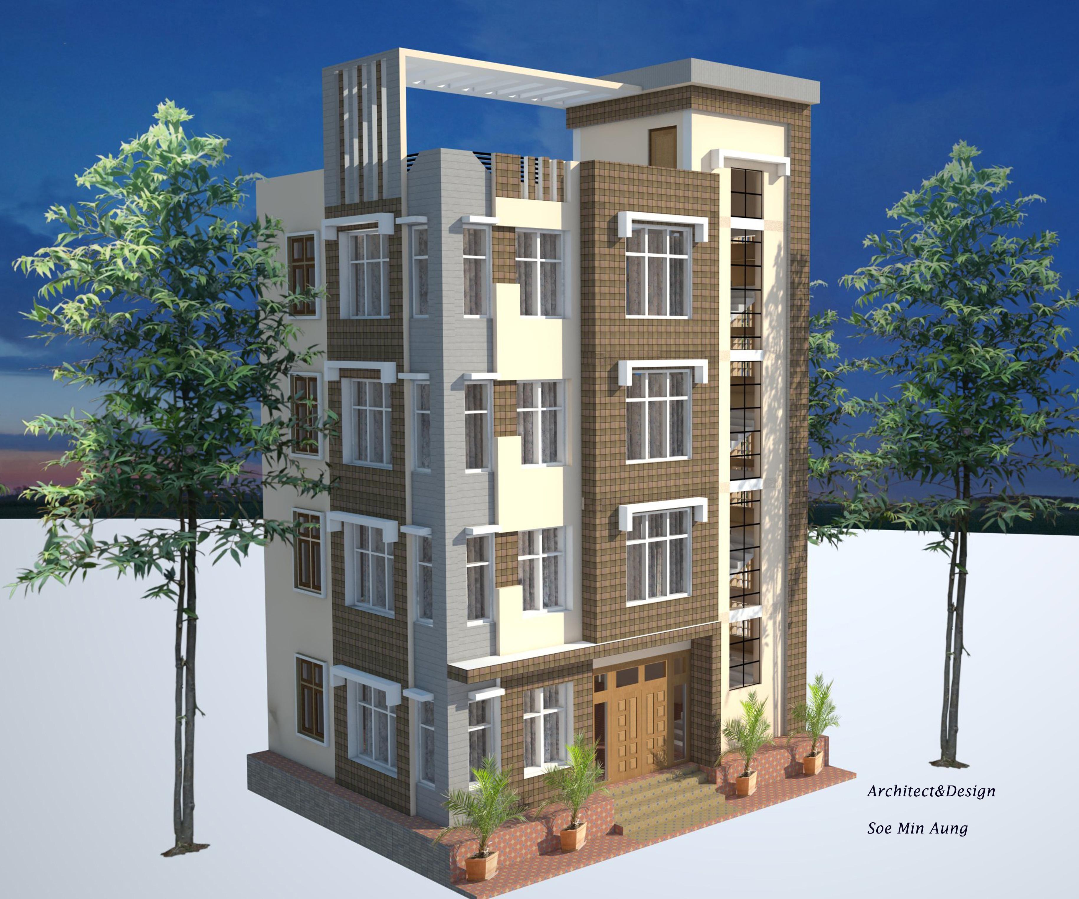 4 storey design