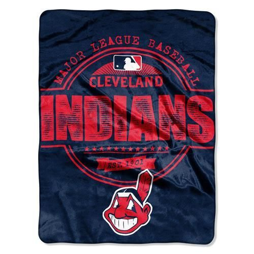 Cleveland Indians Fleece Blanket Throw Large Micro Raschel