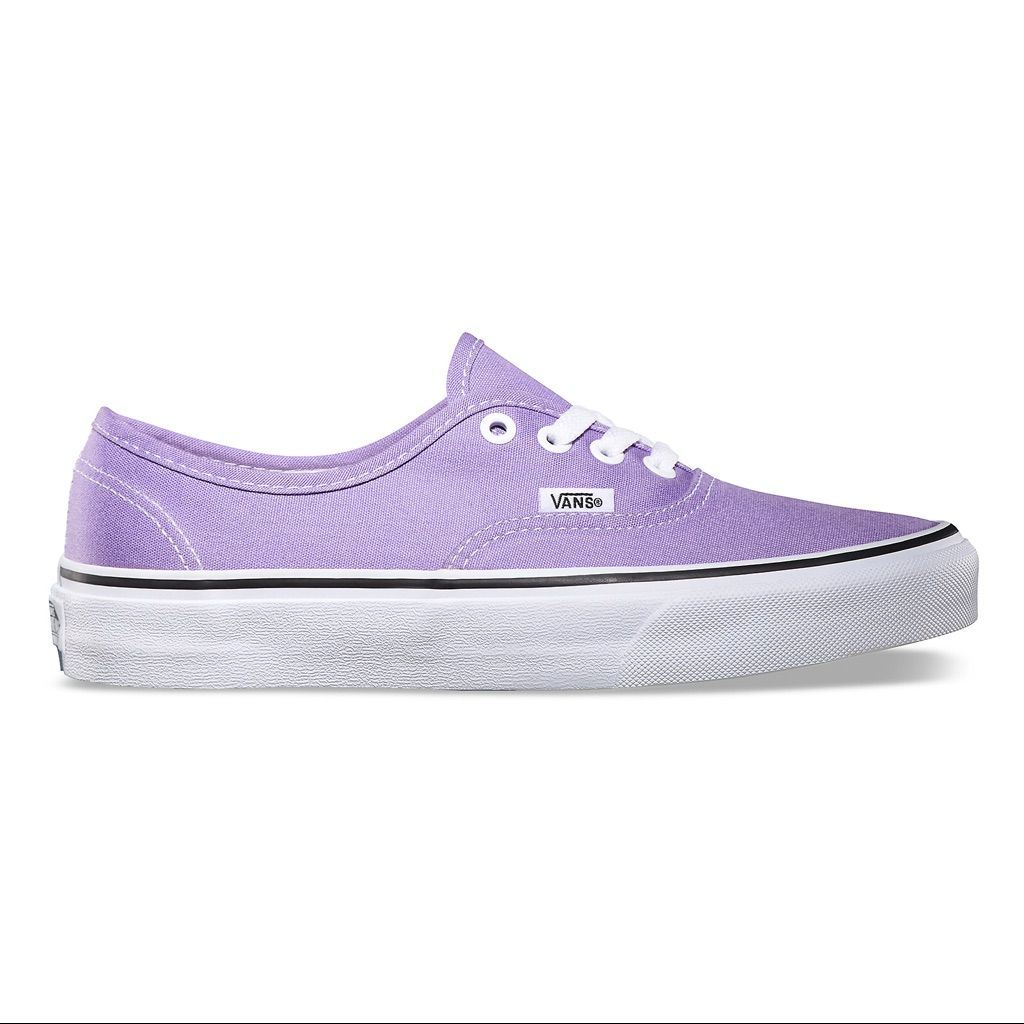 282100f566 Light Purple Authentic Vans