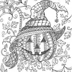Halloween Coloring Pages Halloween Coloring Book Pumpkin Coloring Pages Fall Coloring Pages