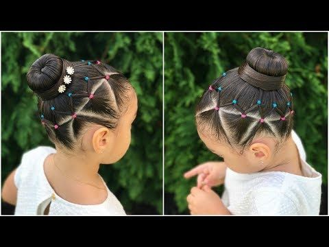 Youtube Peinados Lindos Con Trenzas Peinados De Cebollas Para Niñas Peinados Divertidos