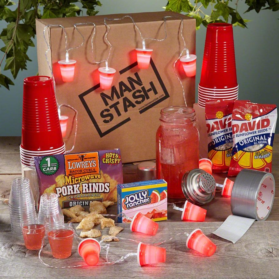 Die 50 top mnnergeschenke zu weihnachten duck tape box and gift with this redneck party man stash gift boxed set you dont even need to grab the red party cups we got yall covered for men who work hard and play harder negle Images