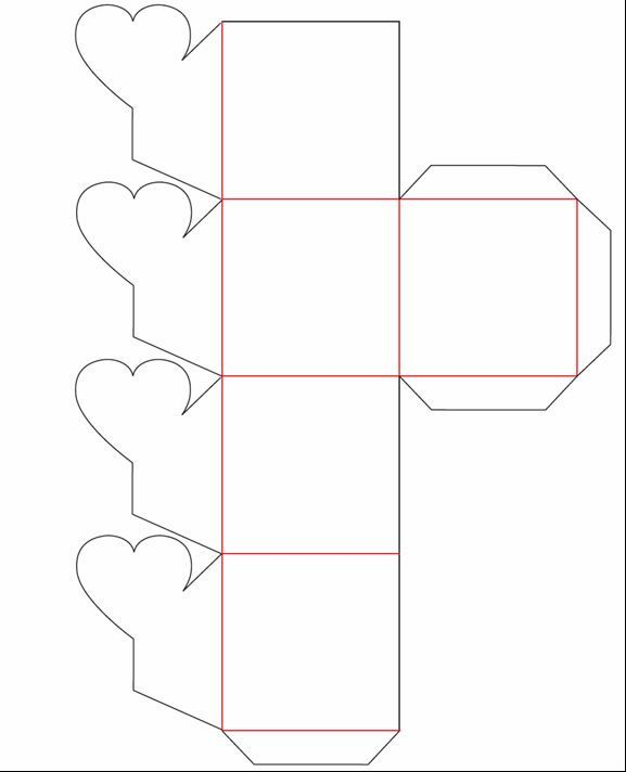 Caja flor 577 712 cajas pinterest for Como hacer cajas para regalos de boda