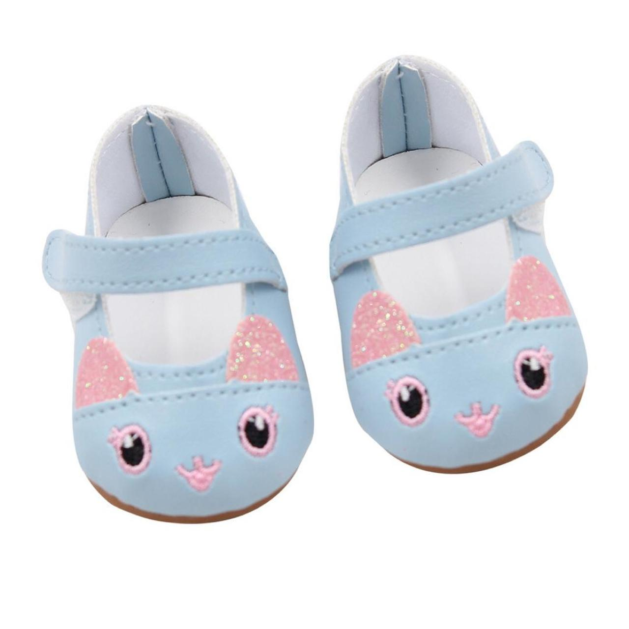 Doll Shoes 7cm High-quality Pattern Mini Shoes For 18 Inch American And Baby NEW