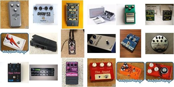 Today's hottest guitar effect pedal auctions   JMI Sound Fuzz: http://bit.ly/2h2Wzq6  Guyatone PS-109 Analog Delay Box: http://bit.ly/2ganJhZ  Studio Electronics ModMax Filter: http://bit.ly/2h2V63d  Wilson Effects Fuzz: http://bit.ly/2gaqHmK  Maxon MD-9 Magnum Distortion: http://bit.ly/2gaozv6  Way Huge Piercing Moose Octifuzz: http://bit.ly/2h2V6QK  Manlay Sound The Aladdin: http://bit.ly/2gaqFeC  Korg FK-2 Mr. Multi Wah: http://bit.ly/2h2RLkp  Fortin Amplification Grind…