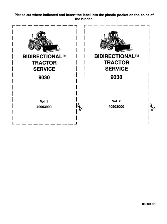 Ford Versatile 9030 Tractor Service Manual Tractors Ford News Manual