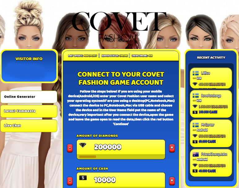 Pin On Covet Fashion Hack Android