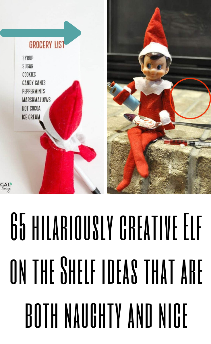 65 hilariously creative Elf on the Shelf ideas that are