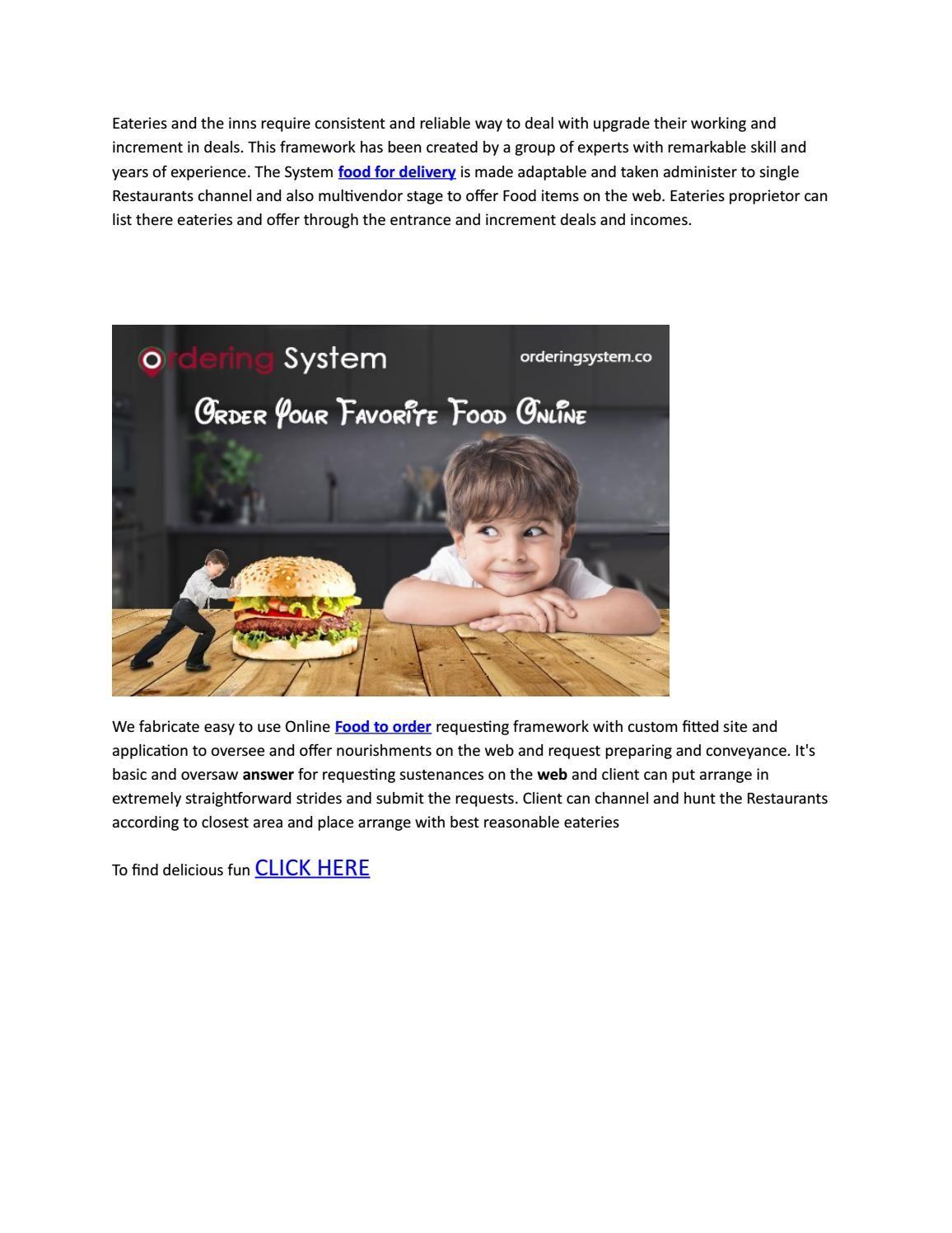 online ordering system get food by app App, Order food, Food